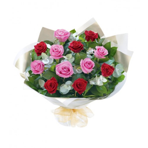 Heavenly Rose Hand Tied